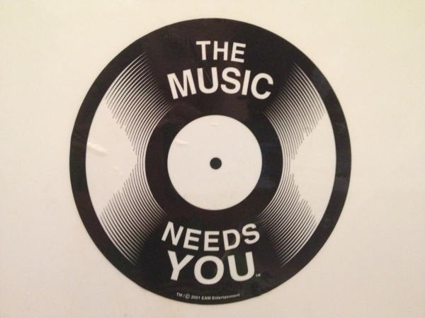 The Music Needs You - Copyrite 2001 EAM Entertainment