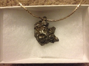 My Meteorite Necklace